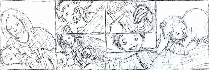"Frame storyboard ""Evviva le vacanze"""