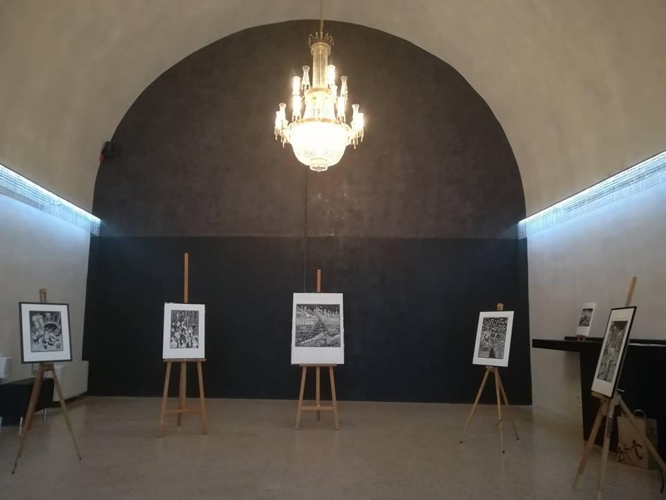 Mostra nel Foyer del Teatro