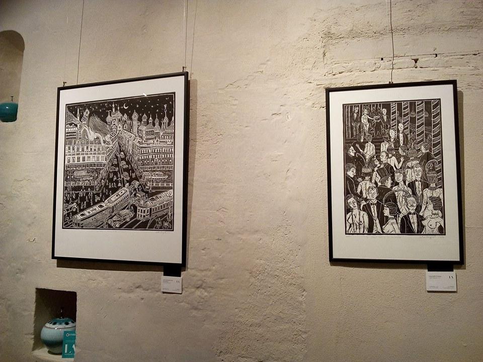Esposizione in galleria