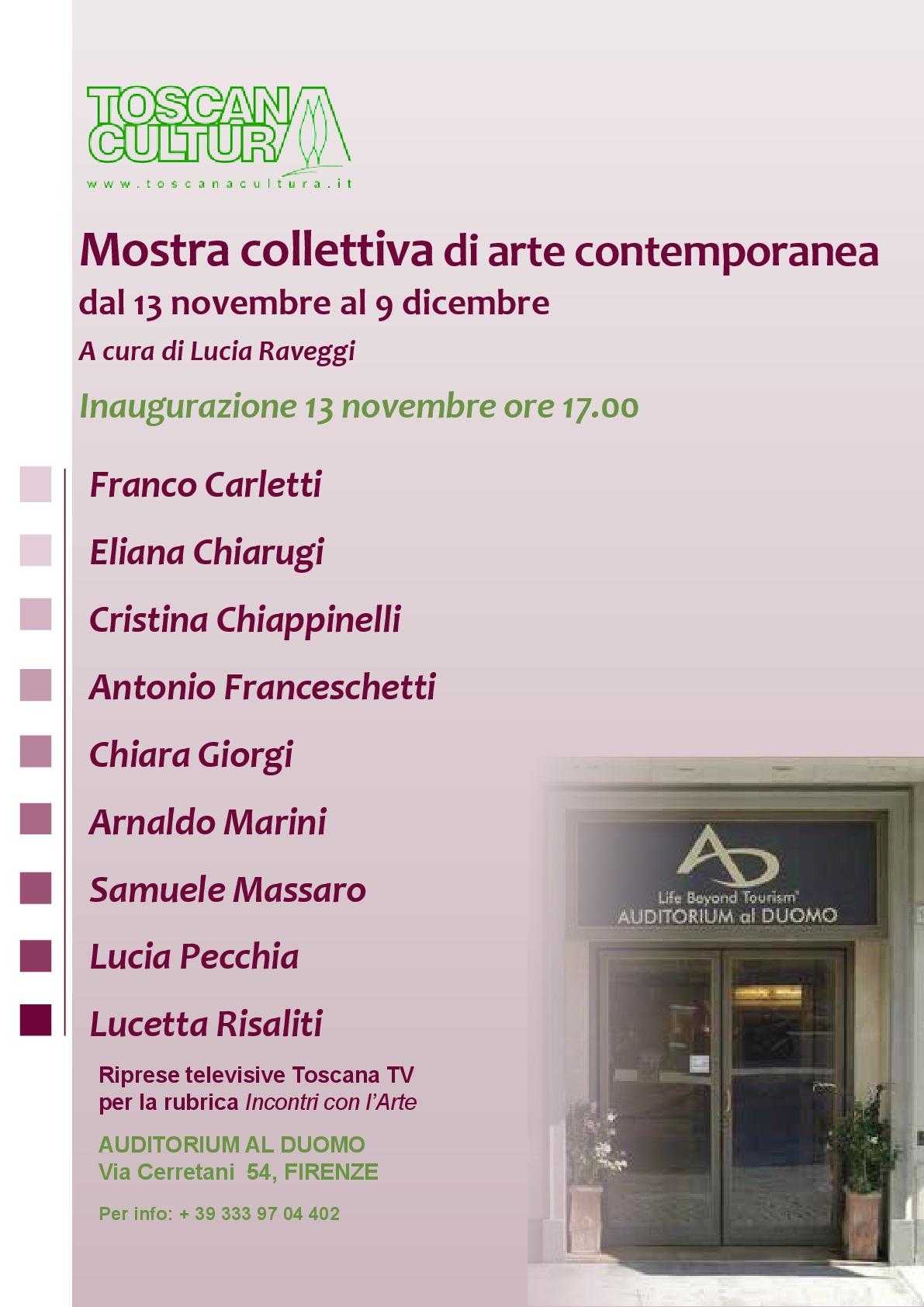 Mostra all'Auditorium al Duomo