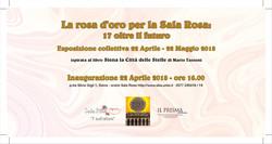 La rosa d'oro per la Sala Rosa
