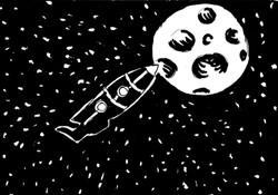 Vicino alla Luna/ Near the Moon