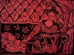 Donna con gatto / Woman with cat