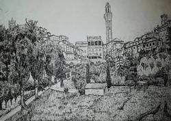 Siena vista dall'Orto dei Pecci