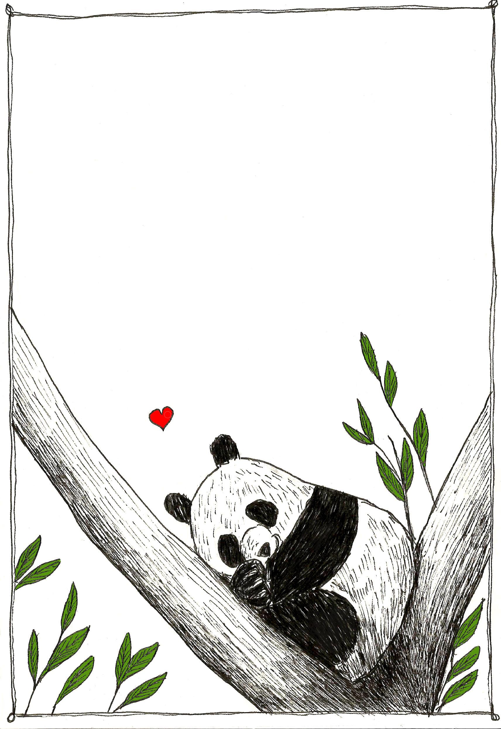 Piccolo panda che dorme