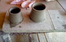 Tazze d'argilla