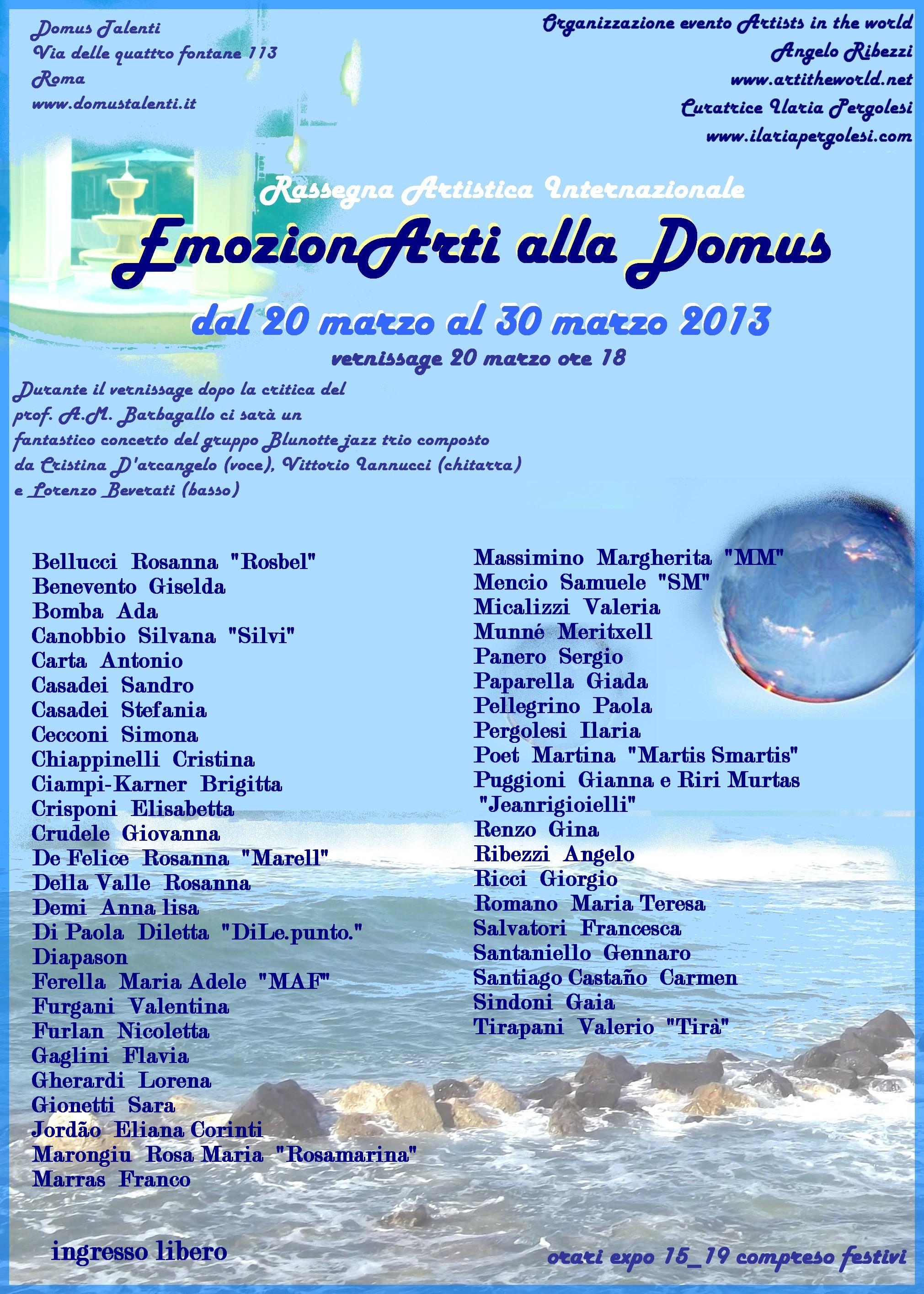 EmozionARTI alla Domus