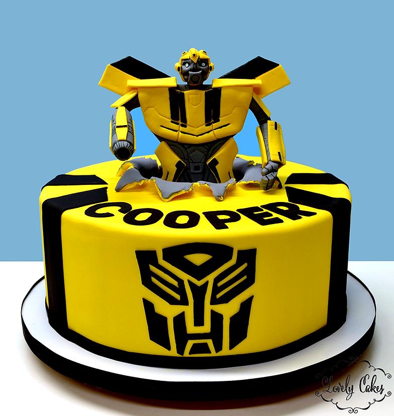 K45 Ble Bee Transformer Cake