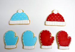 Winter sugar cookies