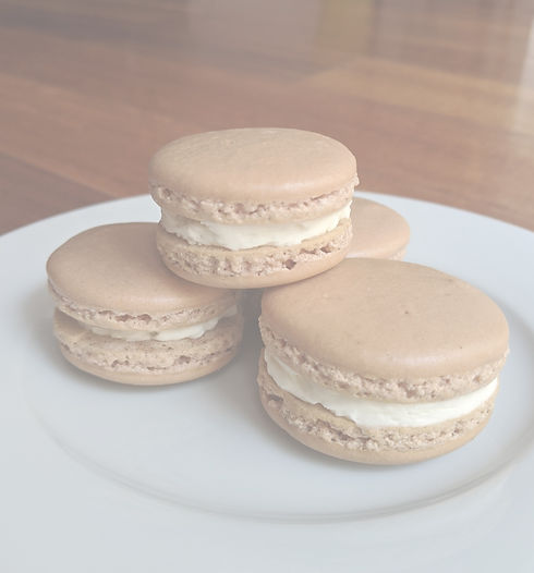 Our Best Seller, Salted Caramel Maple Bacon Macaron