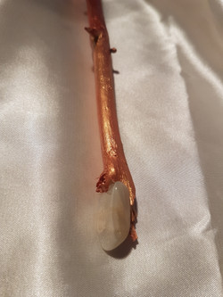 Red Dragon Wand, point position