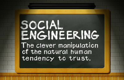 Social Engineering - Manipulation of human trust