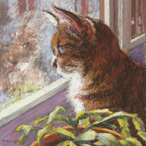 Maya in the Window #2