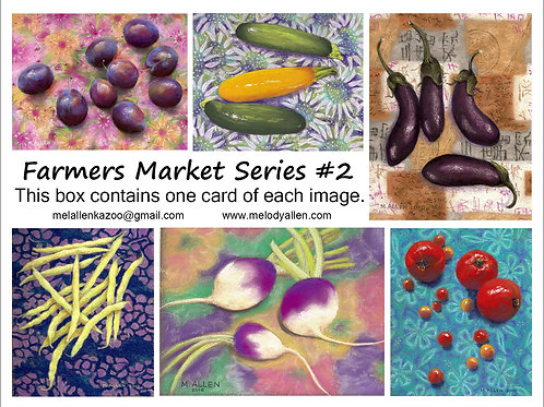 Farmers Market #2 note cards