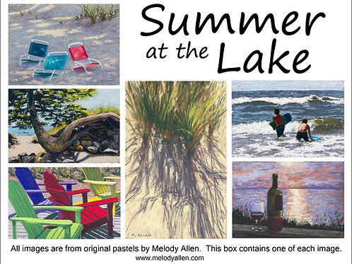 Summer at the Lake notecards