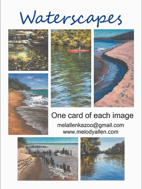Waterscapes note cards