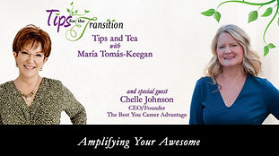 Tips & Tea with Maria Tomas-Keegan and Chelle Johnson