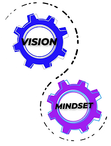 Vision and Mindset cogs