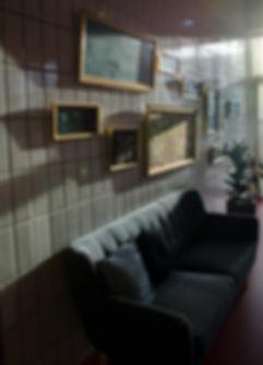 Hyggelig cafe m Nostalgi charme og humor