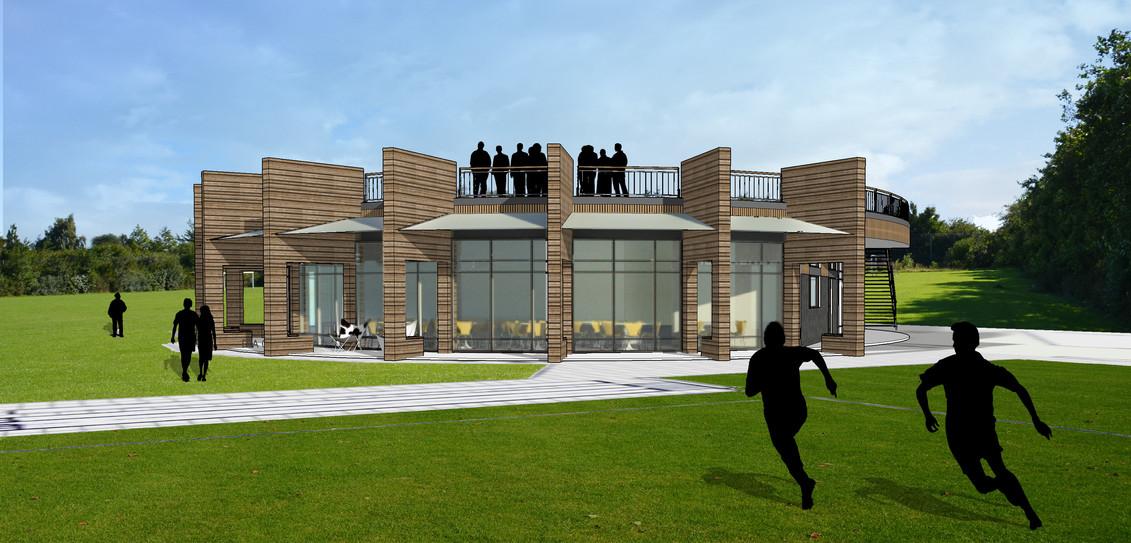 Hover ny klubhus fra bane