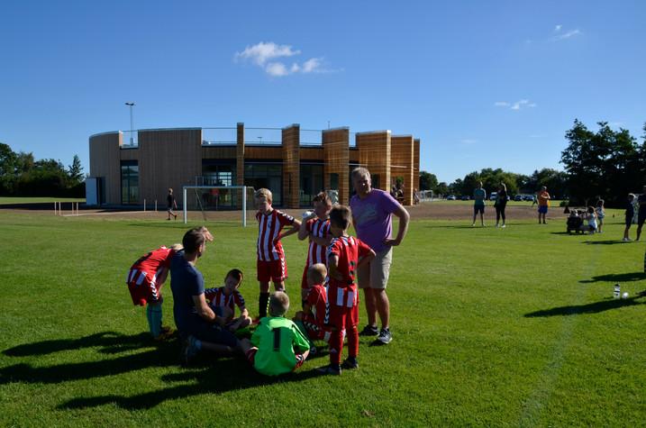 idræts-hus v skole i Vejle