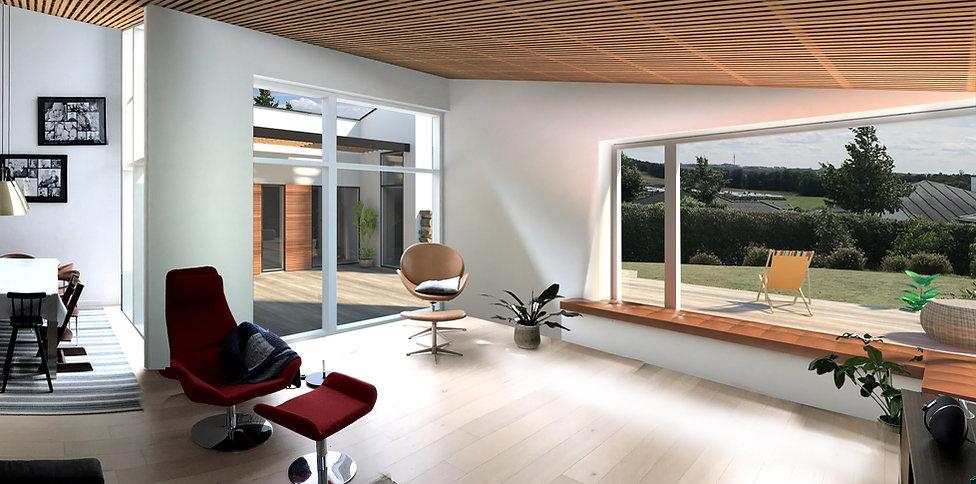 Renovering af 90er-villa m moderne desig