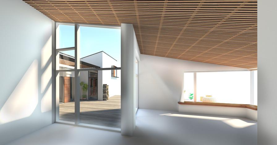 Hvid villa, lys, luft & design