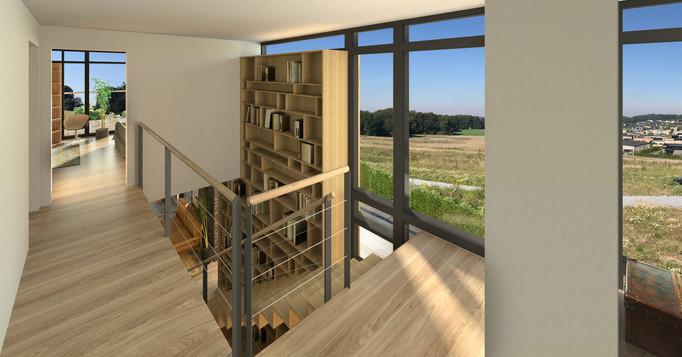 Villa i Naturmaterialer