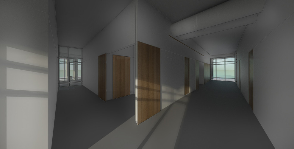 Skitse -Hover ny klubhus