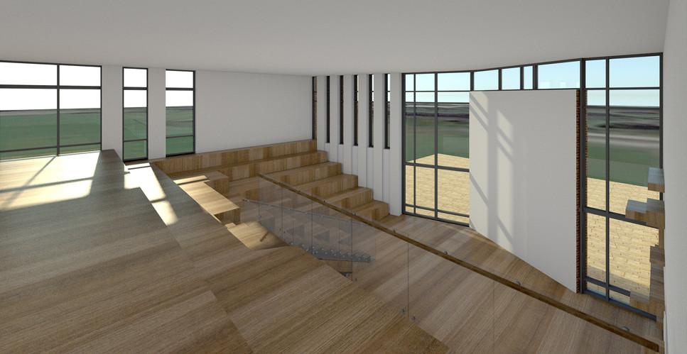 Innovations & lærings bygning -Dalum Landbrugsskole igangværende projekt -