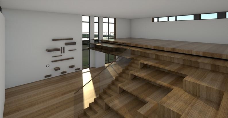Innovations & lærings bygning -Dalum Landbrugsskole  et multifunktionelt rum- multimøbel