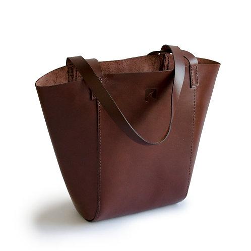 STOR shopper - brun