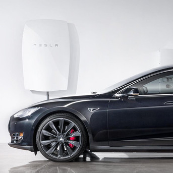 Tesla powerwall & Tesla solar roof