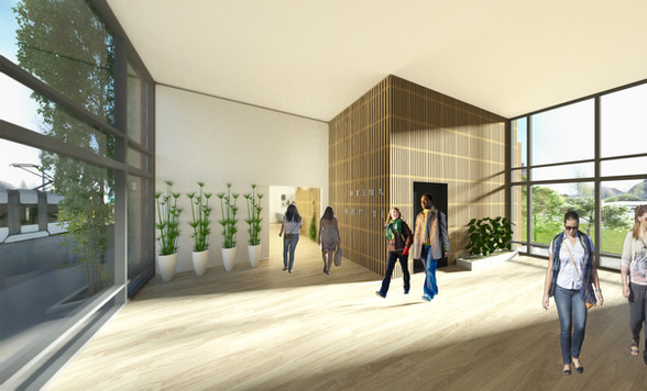 Lisbjerg-Sundhedscenter v Aarhus hovedin