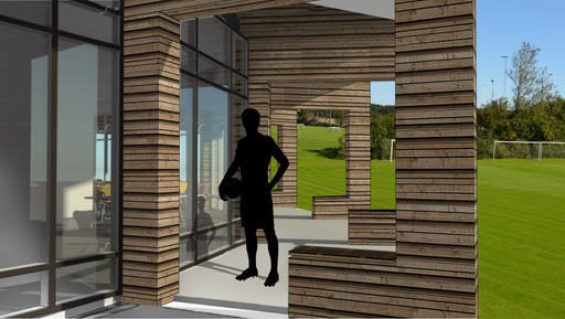 Hover ny klubhus: Reden