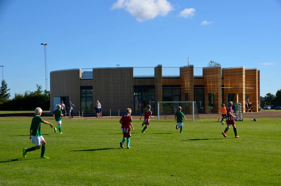 Hover IF - fodboldhus