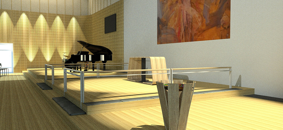 Nyt multihus i Odense - Et  multifunktionelt rum med lys & luft og højt til loftet.