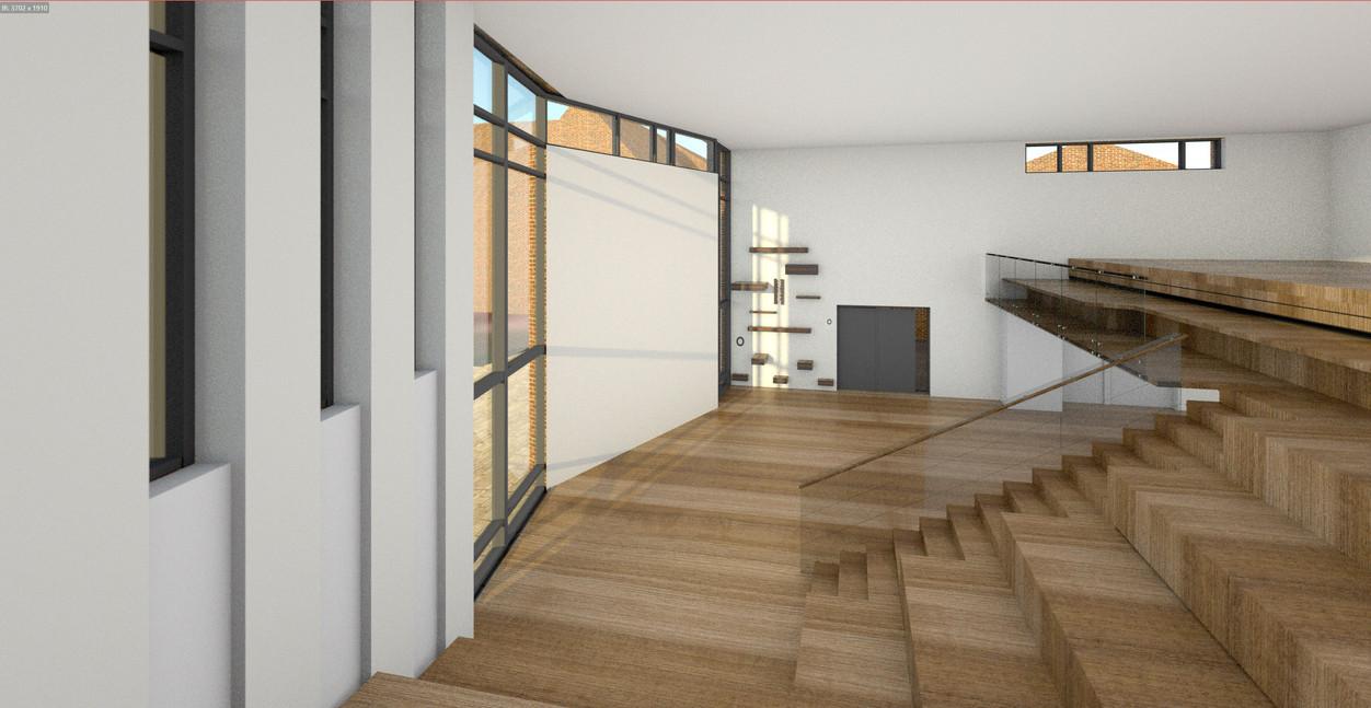 innovationshus-multirum i Odense -invendig design af ARK-plus