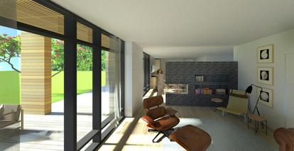 Stue & veranda