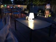 Hævet terrasse m hav-udsigt aarhus