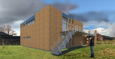 Innovations & lærings bygning -Dalum Landbrugsskole  en multifunktionel bygning-