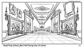 Sofia-Royal Prep School Main Hall, M.Spooner