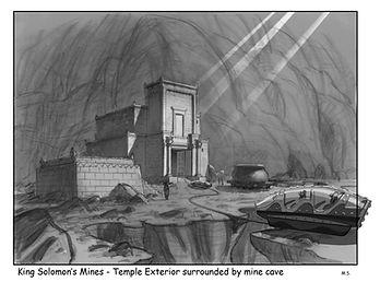 King Solomon's Mines - Temple Exterior s
