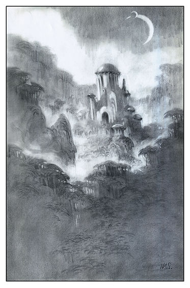 Concept C for View of Lost Civilization