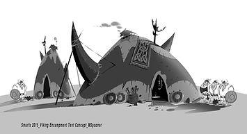 Smurfs_x 2015_Viking Encampment Tent Con