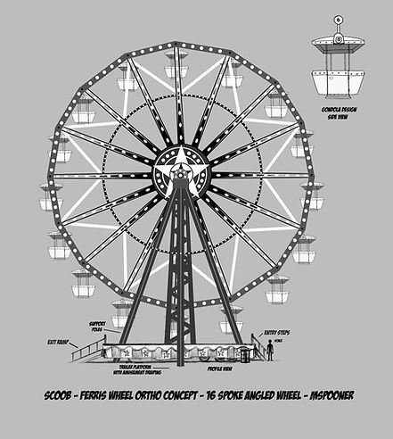 Ferris Wheel Construction - Revised  to