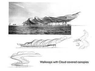 Walkways with Cloud covered canopies.jpg