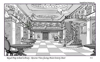 Royal Prep School Library-reverse View f