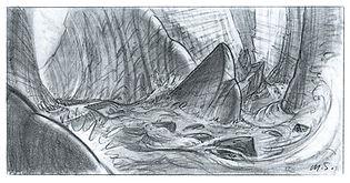 A Goofy Movie_Rapids Study Sketch_MSpoon