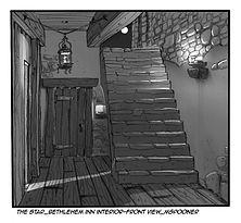 The Star-Interior Bethlehem Inn